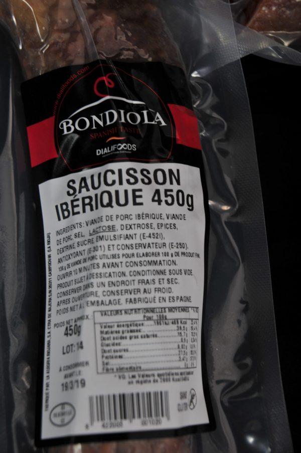 Saucisson Ibérique