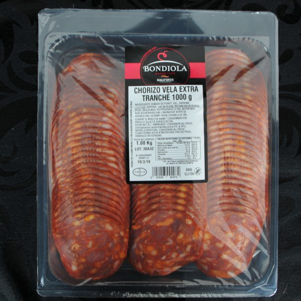 Chorizo Tranché 1 kg